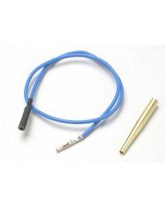 Traxxas 4581X Lead wire, glow plug (blue) (EZ-Start and EZ-Start 2)
