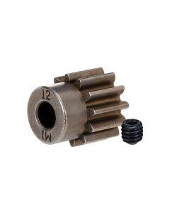 Traxxas 6485X Pinion Gear 12T 5mm shaft, 1.0 metric pitch.