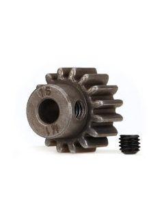 Traxxas 6489X Pinion Gear 16T (1.0 metric pitch) (fits 5mm shaft)/ set screw
