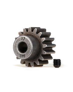 Traxxas 6490X Pinion Gear 17T 5mm shaft, 1.0 metric pitch.