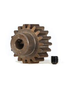 Traxxas 6491X Pinion Gear 18T (1.0 metric pitch) (fits 5mm shaft)/ set screw