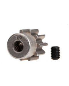 Traxxas 6746 Pinion Gear 10T (32P) (steel)/ set screw
