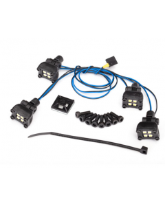 Traxxas 8086 LED expedition rack scene light kit (fits #8111 body, requires #8028 power supply)