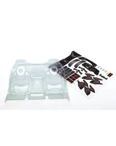 Traxxas 8512 Interior, clear (unpainted) for Unlimited Desert Racer 1/7