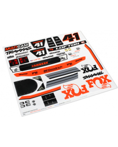 Traxxas 8515 Decals, Unlimited Desert Racer®, Fox® Edition