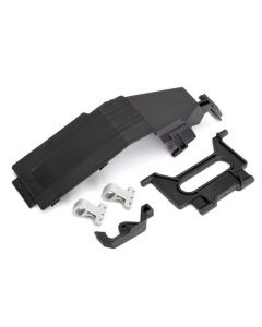 Traxxas 8524 Battery door/ battery strap/ retainers (2)/ latch