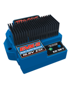 Traxxxas 3019R EVX-2 Brushed Dual ESC Waterproof FWD/REV ( For Car, Traxxas E-Maxx, E-Revo and Summit)