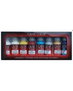 Vallejo 72300 Acrylic Game Color Elves (8 bottles of 17 ml.)