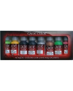 Vallejo 72301 Acrylic Game Color Orcs and Goblins (8 bottles of 17 ml.)