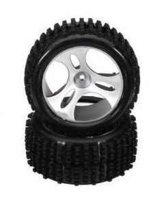 WL Toys A959-01 Wheels to suit A959-A Buggy Rim and Tyre (2pcs)