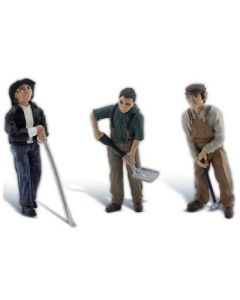 Woodland Scenics A2562 Rail Workers - G scale