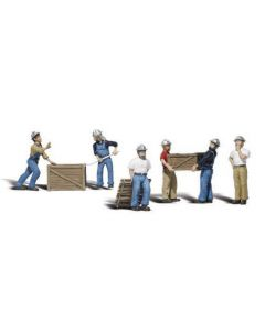 Woodland Scenics A2729 Dock Workers - O Scale