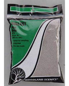 Woodland Scenics B75 Gray Fine Ballast Bag - 21.6 in³ (353 cm³)