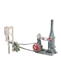 Woodland Scenics D229 Steam Engine and Hammer Mill HO Scale