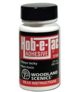 Woodland Scenics S195 Hob-E-Tac Adhesive 2 Oz