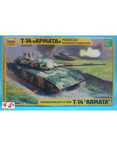Zvezda 3670 T-14 APMATA Russian Main Battle Tank 1/35