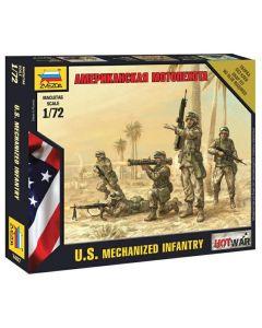 Zvezda 7407 U.S. Mechanized Infantry 1/72